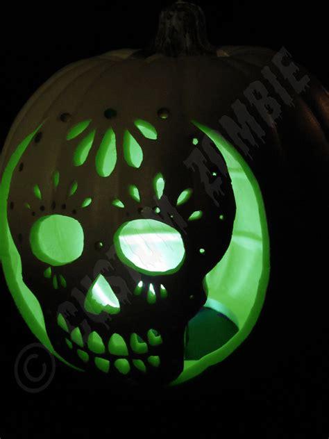 day of the dead pumpkin template pumpkin stencil sugar skull carving crafts downloadable