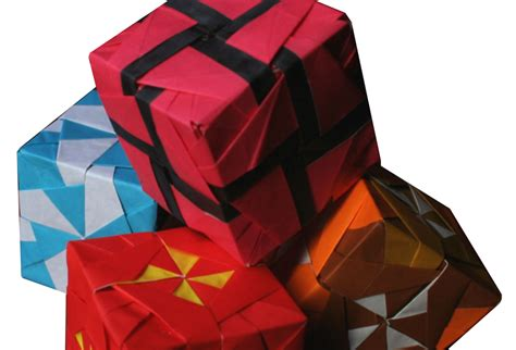 Origami Pinwheel Cube - origami constructions various pinwheel cubes by kunihiko