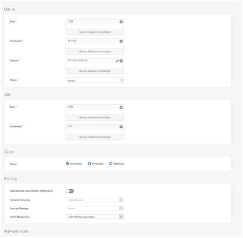 remote desktop firewall remote desktop lan to dmz firewall and policies xg