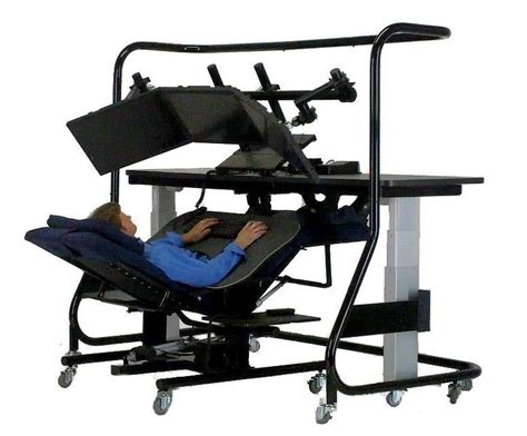 zero gravity desk chair zero gravity work stations oh my gosh it d be like being