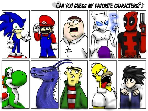 Funny Character Memes - favorite character meme by cloba94 on deviantart