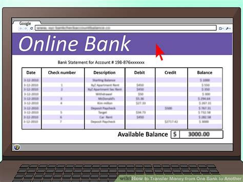 how to transfer money from one bank to another 3 ways to transfer money from one bank to another wikihow