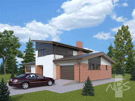 free house projects two storey house project egidijus nps projects