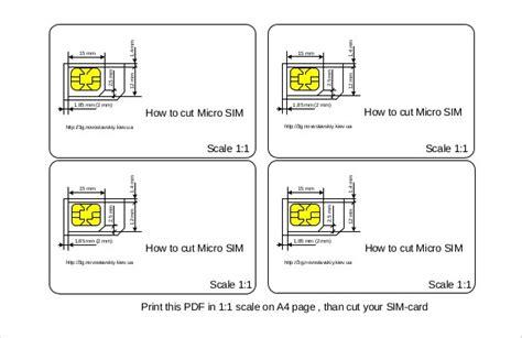Micro Sim Card Template Letter by Micro Sim Card Template Letter Size Letter Of Recommendation