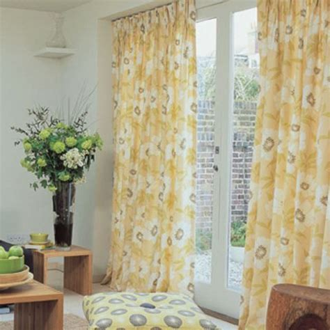 yellow curtains yellow chevron curtains for the most cheerful looks