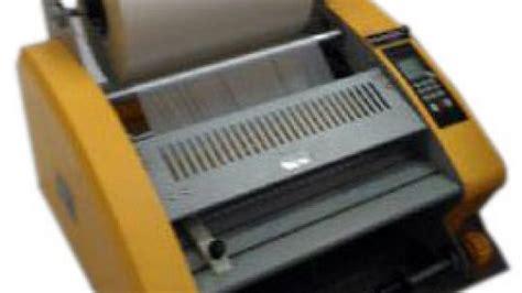 Mesin Laminasi Dingin A4 media digital print ud wijaya supplier mesin cetak