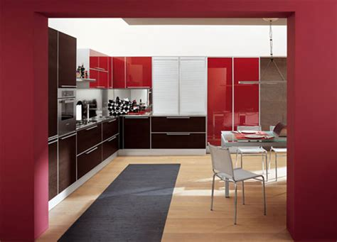 red and white kitchen design red and white kitchen interior design ideas from doimo