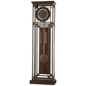 Curio Cabinets Gold Howard Miller Tamarack Wrought Iron Floor Clocks Aged