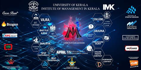 themes for management college festivals mania 2k17 institute of management kerala national level
