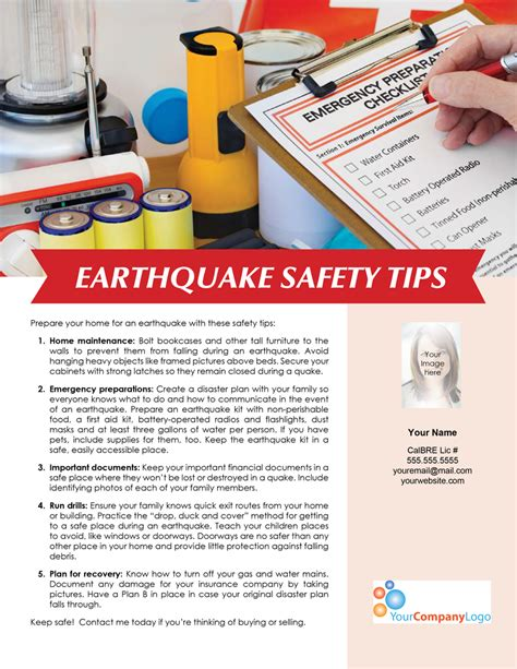 earthquake journal pdf farm earthquake safety tips first tuesday journal