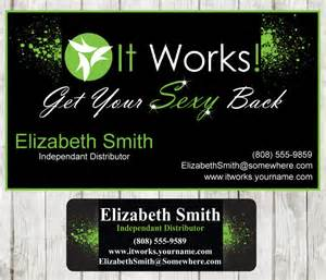 itworks business cards it works business card catalog sticker by digidoodler on
