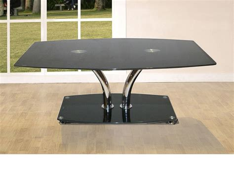 large glass coffee tables uk large glass coffee table with black glass base homegenies