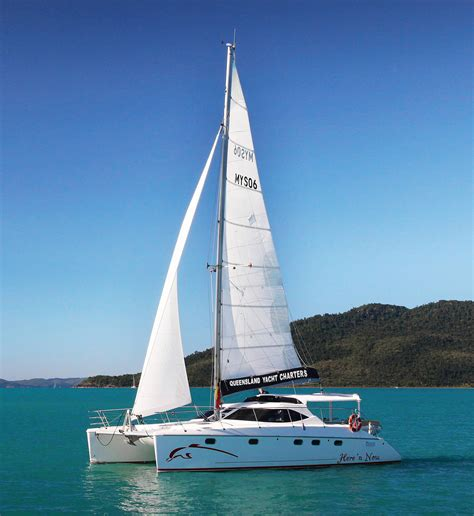 catamaran whitsundays charter charter the montebello 12 5 sailing catamaran whitsunday