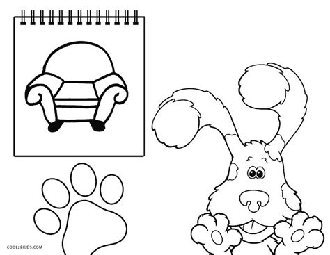 Blues Clues Notebook Coloring Page notebook blues clues coloring pages coloring coloring pages