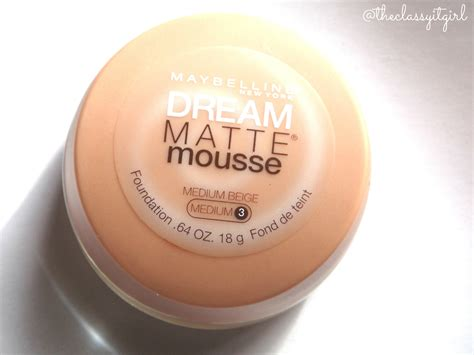 Lipstik Matte Mouse maybelline matte mousse foundation review demo the it