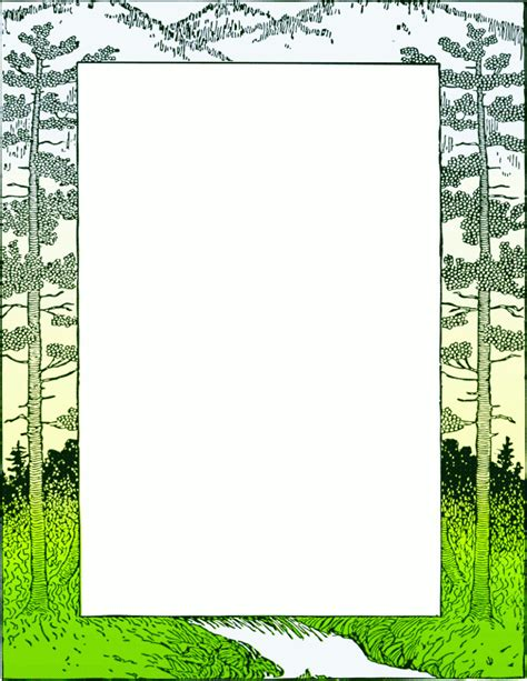 com page frames more frames outdoor scenes mountain frame png html 6byjks clipart kid