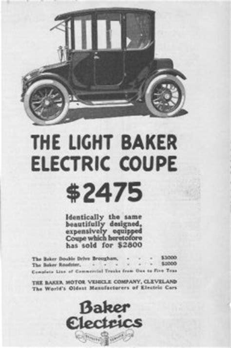 Classic Car Ads: Baker Electric Trucks