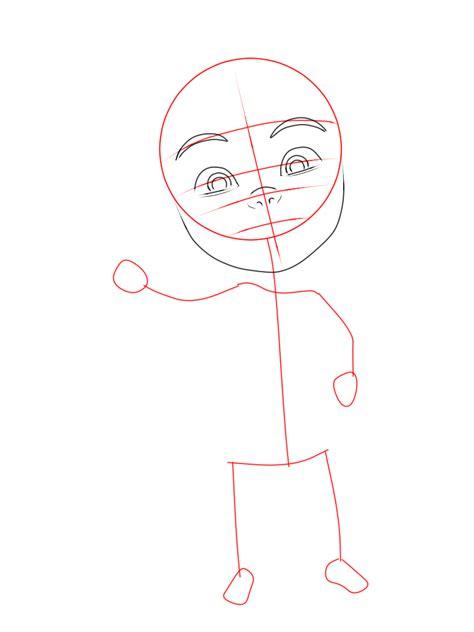 cara menggambar upin upin dan ipin 9komik tips dan cara menggambar