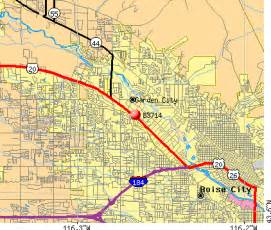 Boise Id Zip Code Map by 83714 Zip Code Garden City Idaho Profile Homes