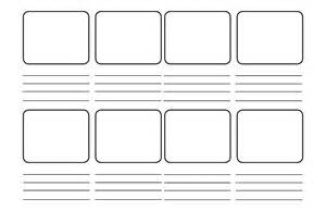 story board template storyboarding faites du storytelling dans vos