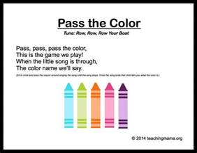 songs with color in the title 10 preschool songs about colors