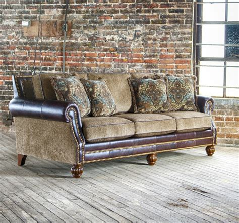 Leather Fabric Combo Sofa Leather And Fabric Combination Leather Sofa And Loveseat Combo