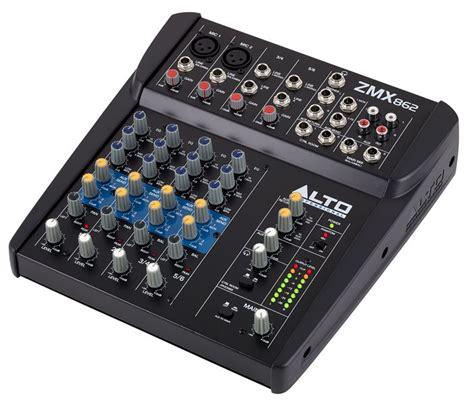 Mixer Alto Zmx 862 alto zmx 862 thomann