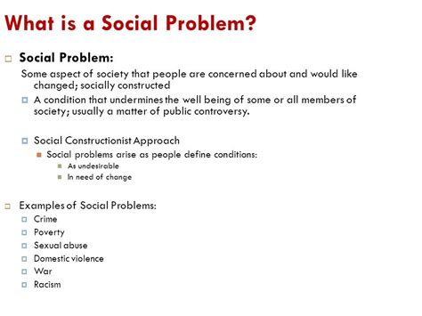 Essay Social Problem Exles Of Social Problems World Of Exles