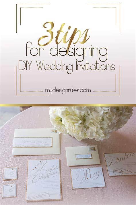 wedding invitation design rules 3 tips to design amazing wedding invites my design rules