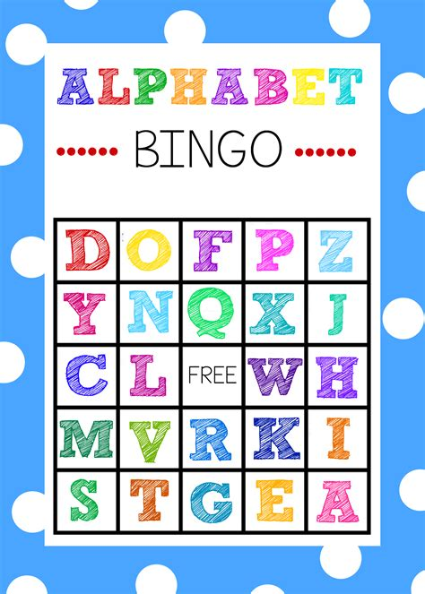 printable board games time free printable alphabet bingo game alphabet bingo abc