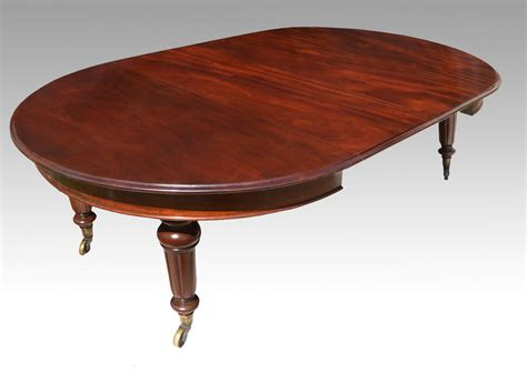 Mahogany Circular Dining Table by Five Foot Mahogany Extending Dining Table Antiques
