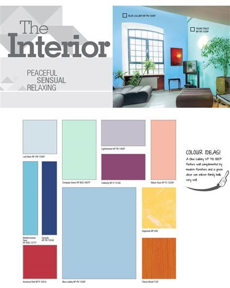 blue lullaby colour trend 2016 nippon paint singapore