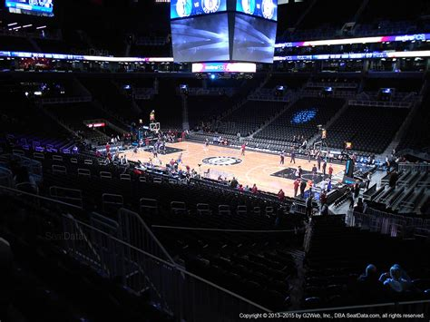 Section 9 Barclays Center by Barclays Center Section 105 Nets