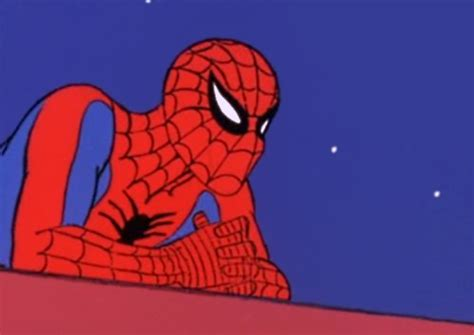 60s Spiderman Meme - spider gaze clean 60s spider man know your meme
