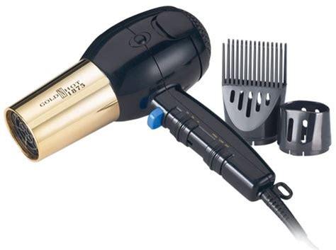 black n gold hair dryer gold n hot 1875 ionic tourmaline dryer model 2256