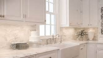 carrara marble subway tile kitchen backsplash trendspotting kitchen designs glam living