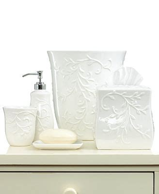 lenox bathroom collection lenox bath accessories opal innocence carved collection