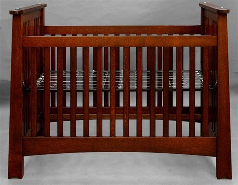 Handmade Baby Crib - handmade mackintosh arts crafts crib baby youth ebay