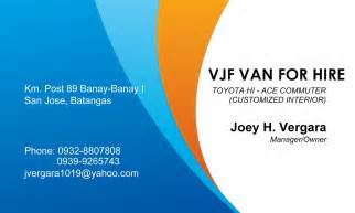 jdm groceries business center vjf for rent by joey h vergara calling card