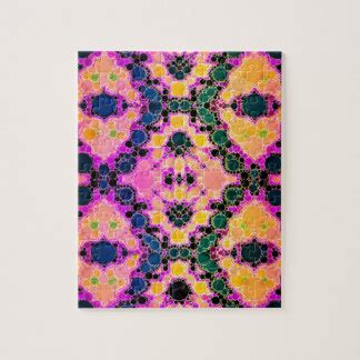 abstract jigsaw pattern graphic design jigsaw puzzles zazzle