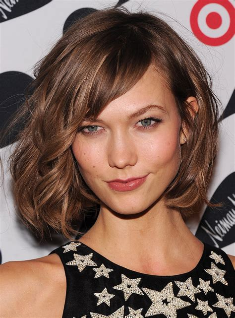 and flowing haircuts for 12 year celebrity hair inspiration the long bob lob karlie