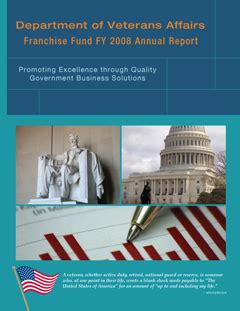 sections of an annual report fy 2008 annual report franchise fund
