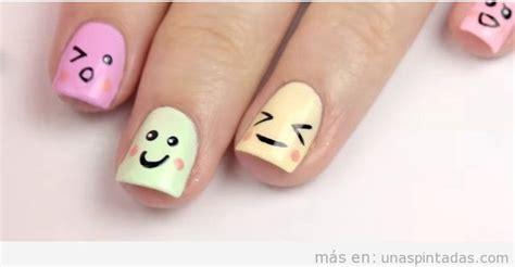 imagenes de uñas emoji u 241 as decoradas con emoticonos expr 233 sate con tus u 241 as