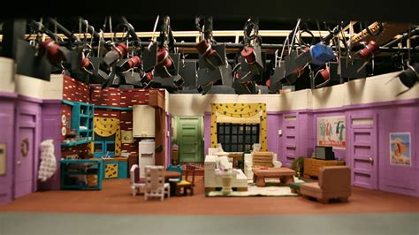 sitcom sets these miniature tv show sets are awesome vocativ