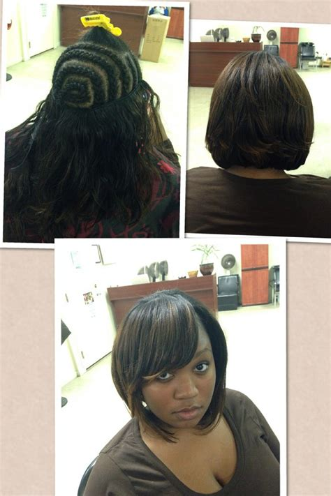 how to cut a bob in a weave black hairstyles howcast 60 best braid pattern images on pinterest weave hair