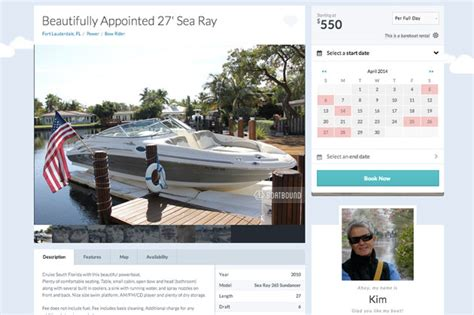 boatsetter app renting boats is getting easier with boat sharing boats