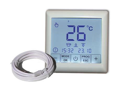 Heizmatte Mit Thermostat 200 by Bodenheizung 24 Heizmatten Set Bz 200 Touch