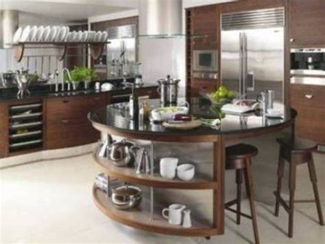 round island kitchen modern round kitchen island interesting ideas interior
