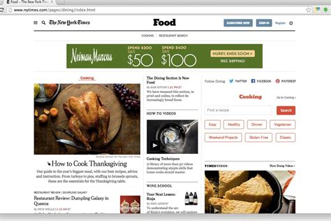 new york times dining section the new york times dining section is now officially