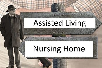 assisted living vs nursing home detailed comparison